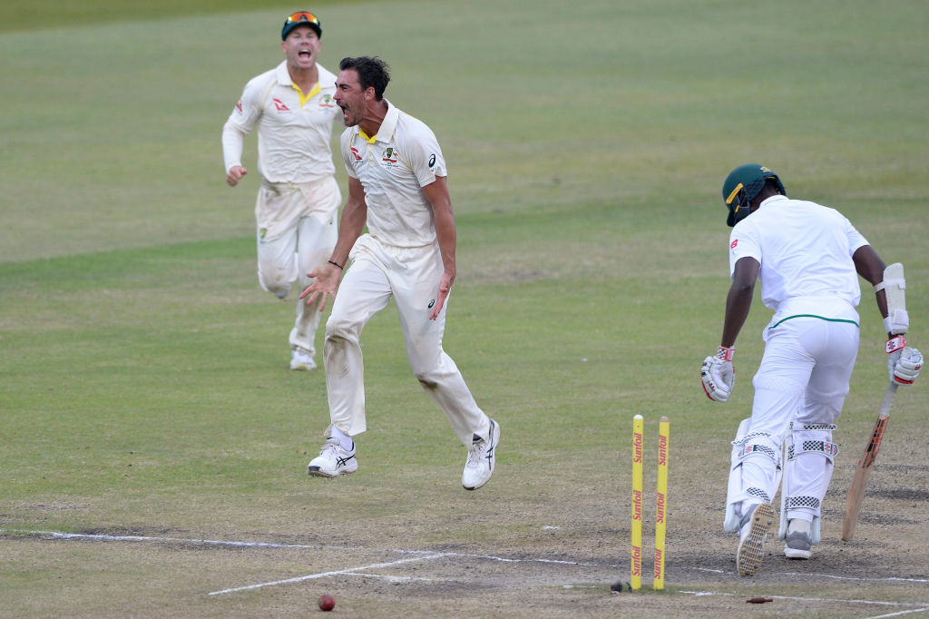 Starc has wrecked havoc on the South African tail so far.