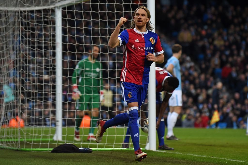Michael Lang's goal 19 minutes from full time won it for Basel.