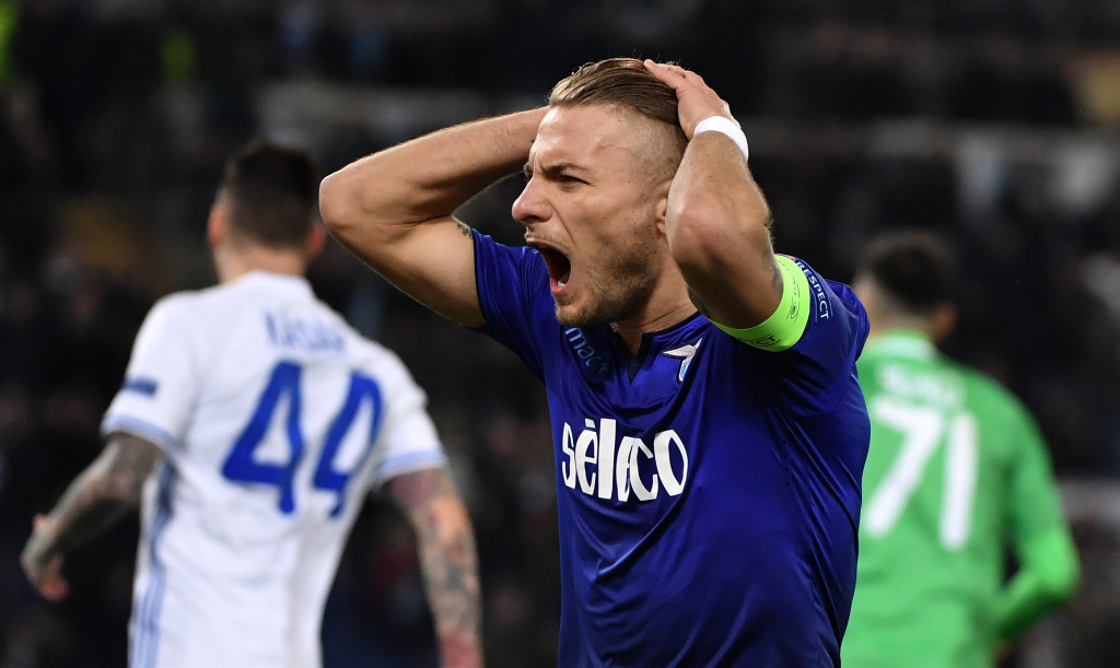 Lazio striker Ciro Immobile will be hoping for more good times versus Genoa.