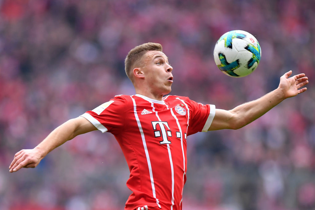 Meeting expectations: Joshua Kimmich