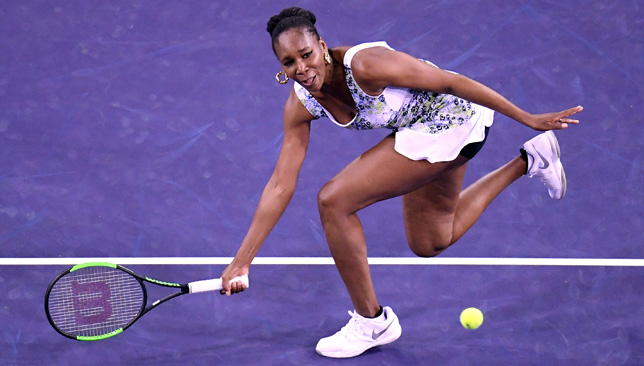 Indian Wells: Venus Williams breezes past Carla Suarez Navarro to set up semi-final against Daria Kasatkina