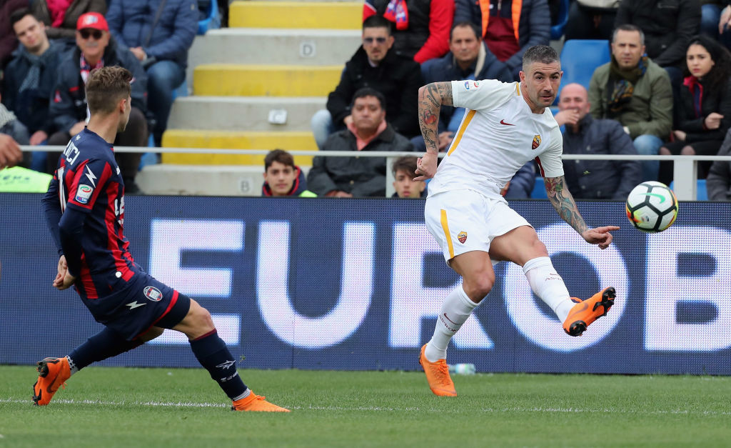 Heads up, Eden: Aleksandar Kolarov