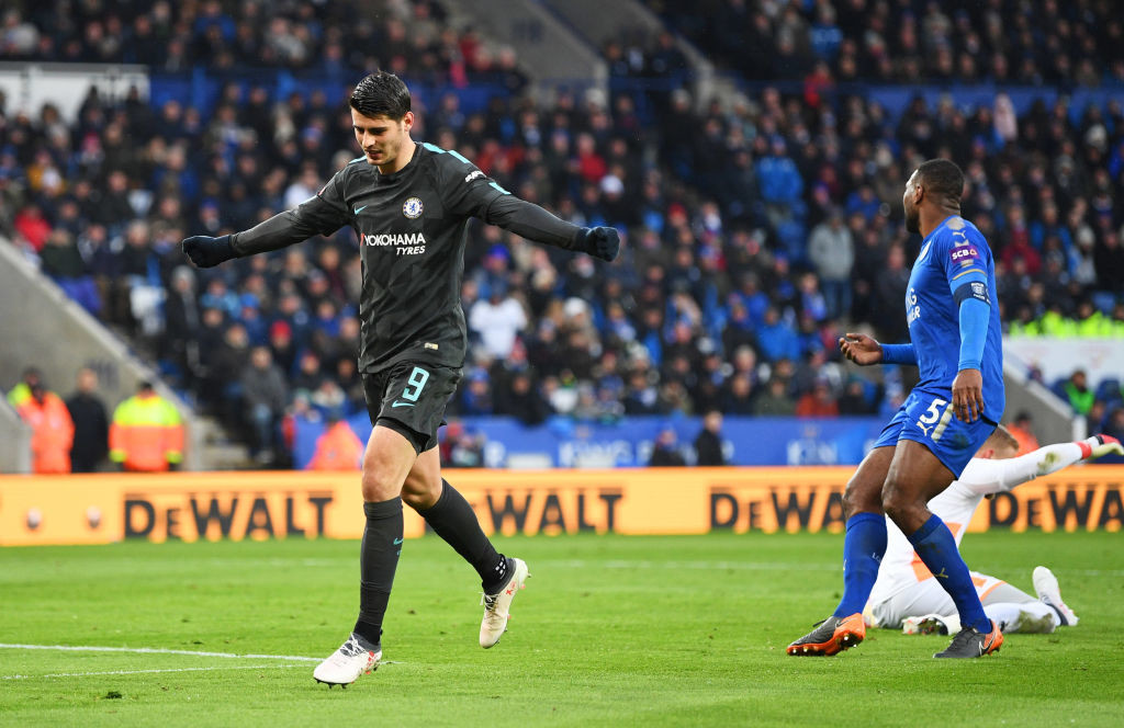 Morata had broken his barren spell in win against Leicester.