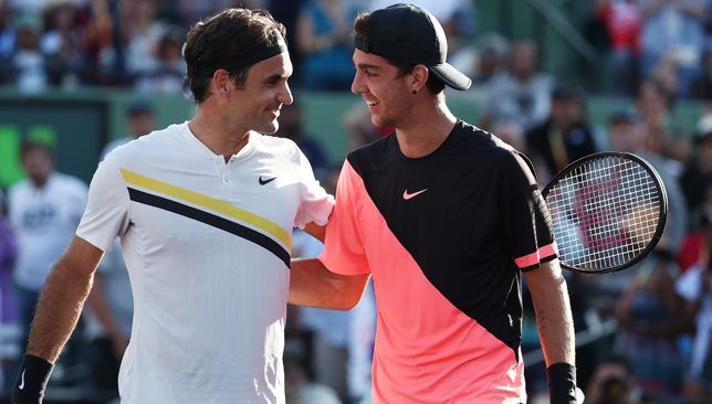 Qualifier Kokkinakis Stuns Federer In Miami