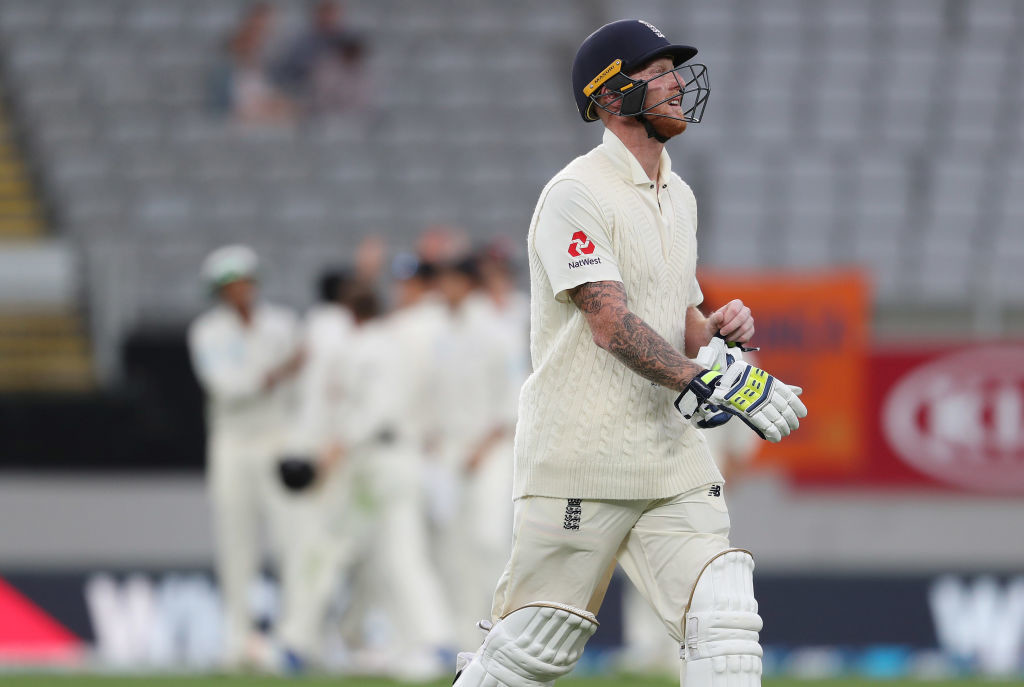 Stokes battled pain to dig in for a resolute innings of 66.