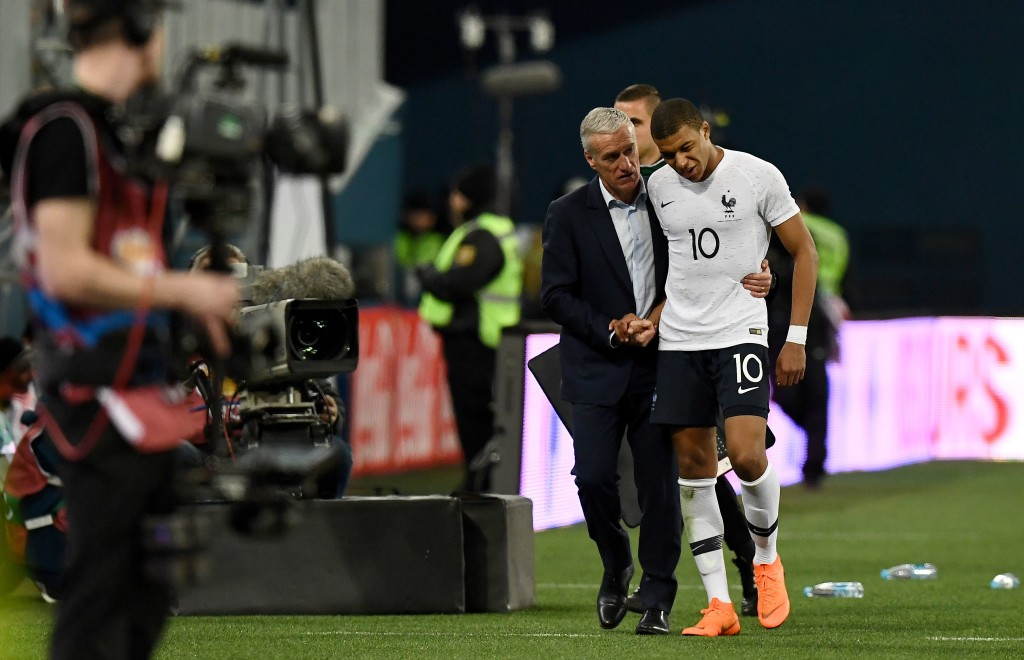 France boss Didier Deschamps must decide his best XI and formation