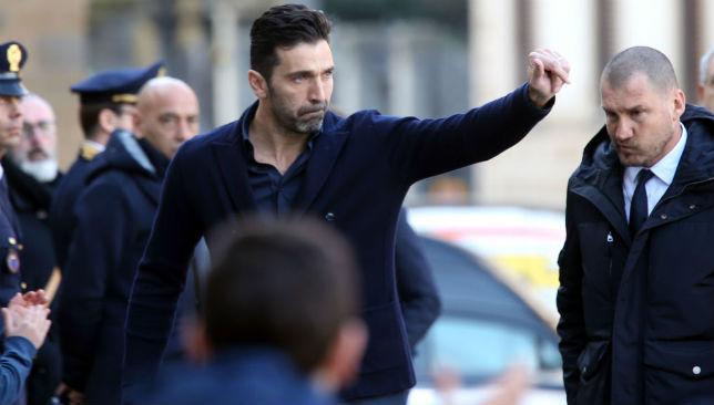 Gianluigi Buffon of Juventus