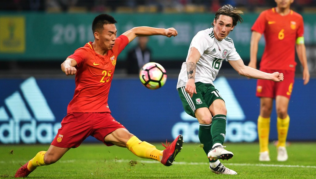 Harry Wilson shone on his first Wales appearance in over four years with a sublime goal in the 6-0 rout of China.