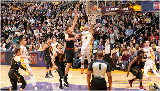 4471648d915 Isaiah Thomas gets revenge on Cleveland Cavaliers for one night in Los  Angeles Lakers  victory