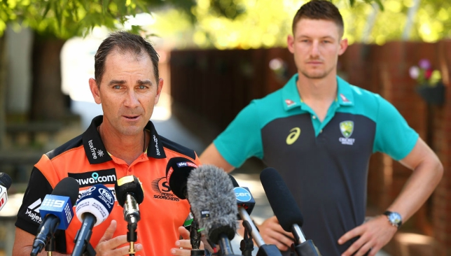 Justin Langer is seen as an excellent coach and man manager.