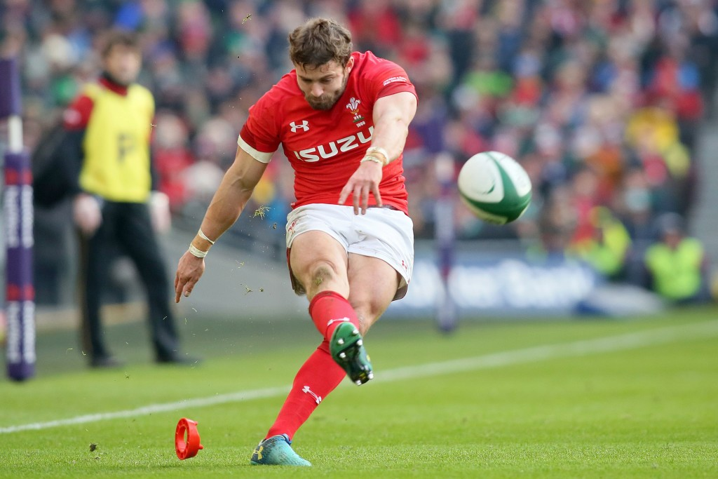 Wales' full-back Leigh Halfpenny