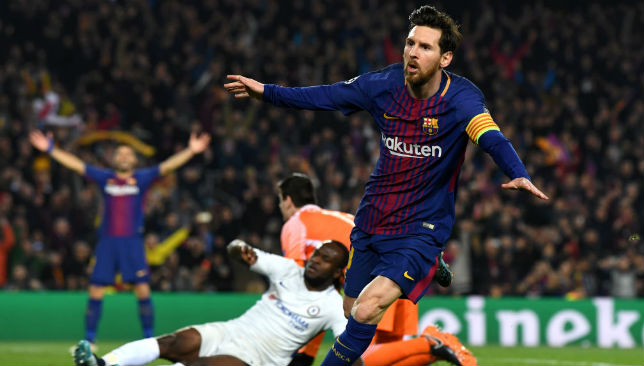 Messi hits century in Barca win over Chelsea