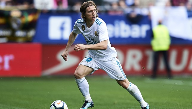 Still a force: Luka Modric.