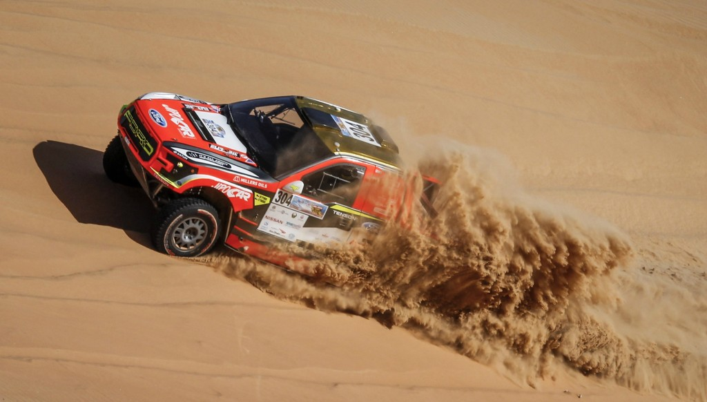 Martin Prokop holds a commanding lead in the cars section.