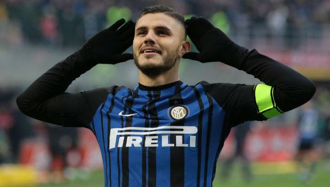 Hotshot: Inter skipper Mauro Icardi.