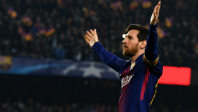 Lionel Messi thanks Barcelona fans for incredible tifo