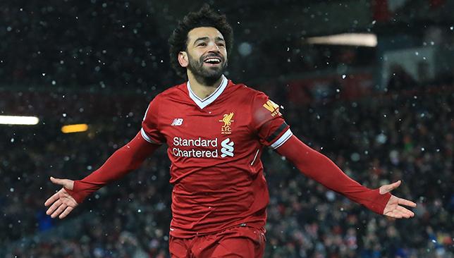 Salah hits four goals past Watford