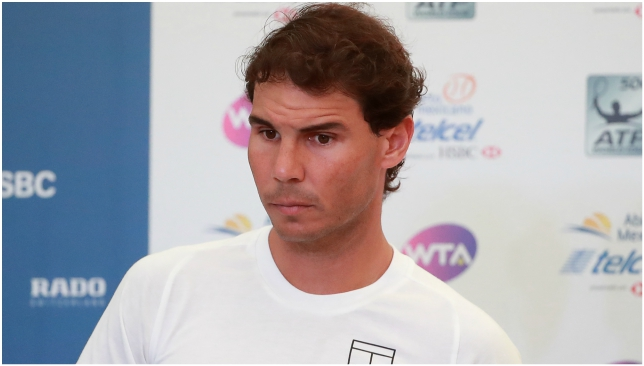 Nadal pulls out of Mexican Open