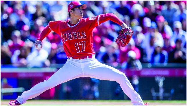 Rookie Shohei Ohtani will pitch and hit for the Los Angeles Angels this season.
