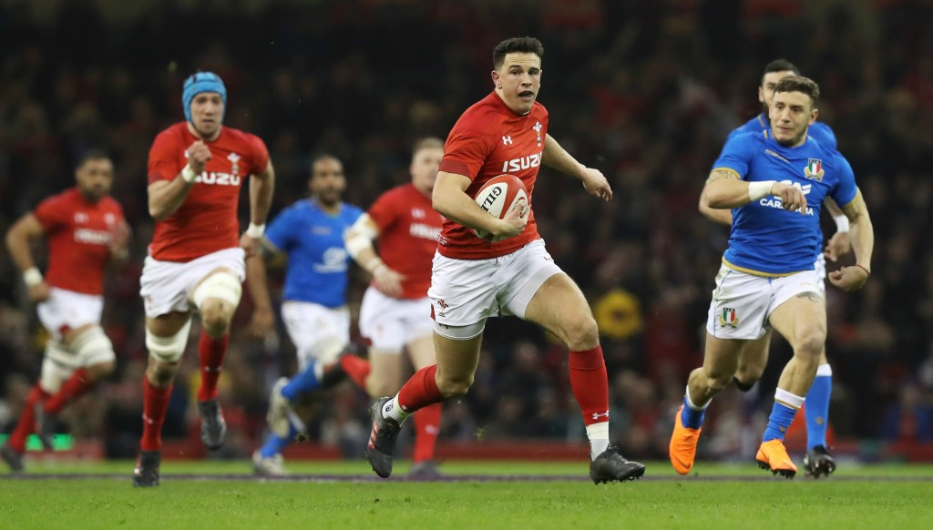 At just 21, Owen Watkin is a bright prospect for Wales.