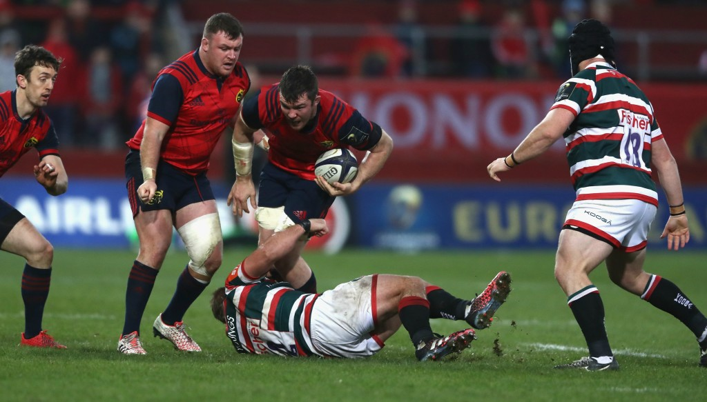 Peter O'Mahony and Munster welcome Toulon to Thomond Park.