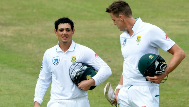 Warner said he is yet to speak to Quinton de Kock after the incident.