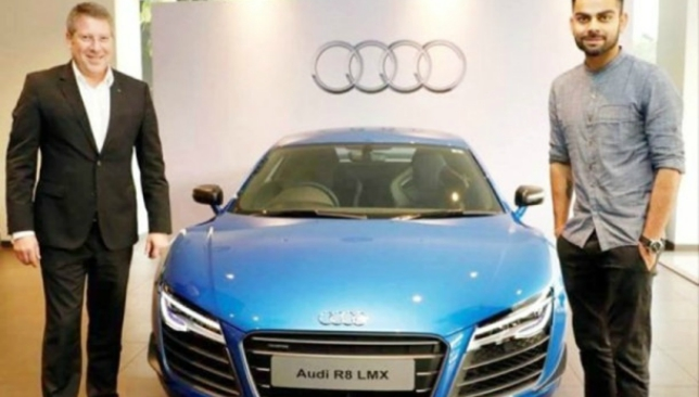 The Audi R8 limited edition.