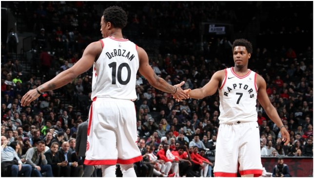 Kyle Lowry and DeMar DeRozan are hoping to change the Raptors' playoff fortunes.