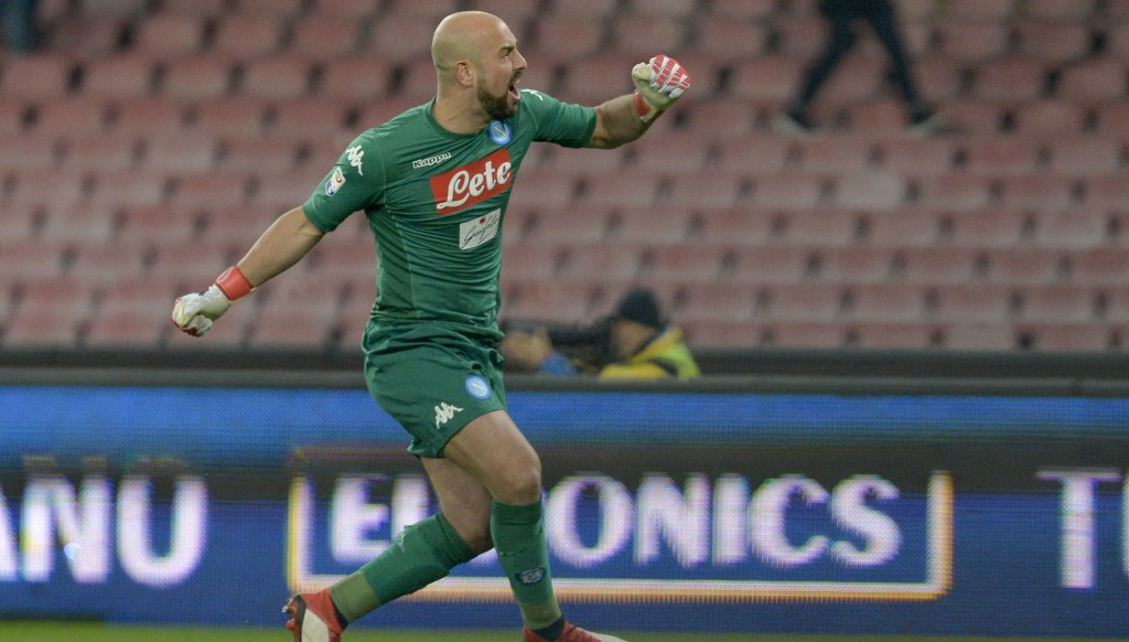 Pepe Reina could be heading from Naples to Milan.