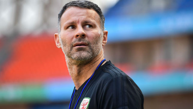 Giggs took charge of Wales at the beginning of the year.
