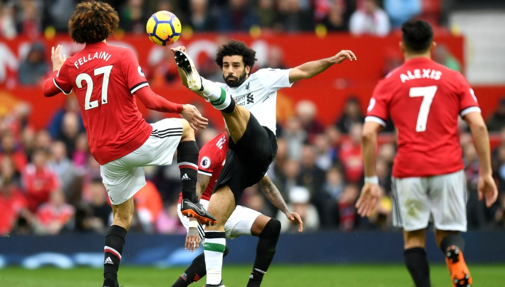 Mohamed Salah was suffocated by United's defence.