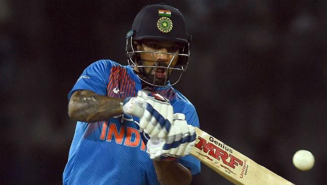 India batsman Shikhar Dhawan.