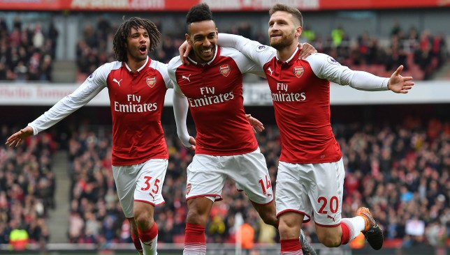 Arsenal beat Watford at Emirates