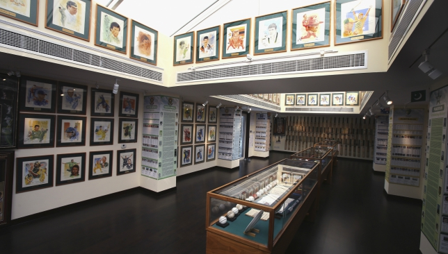 The Shyam Bhatia Cricket Museum is an ode to the greatest players in history.