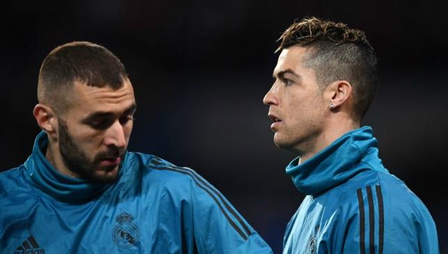 Benzema was always Ronaldo's sidekick.