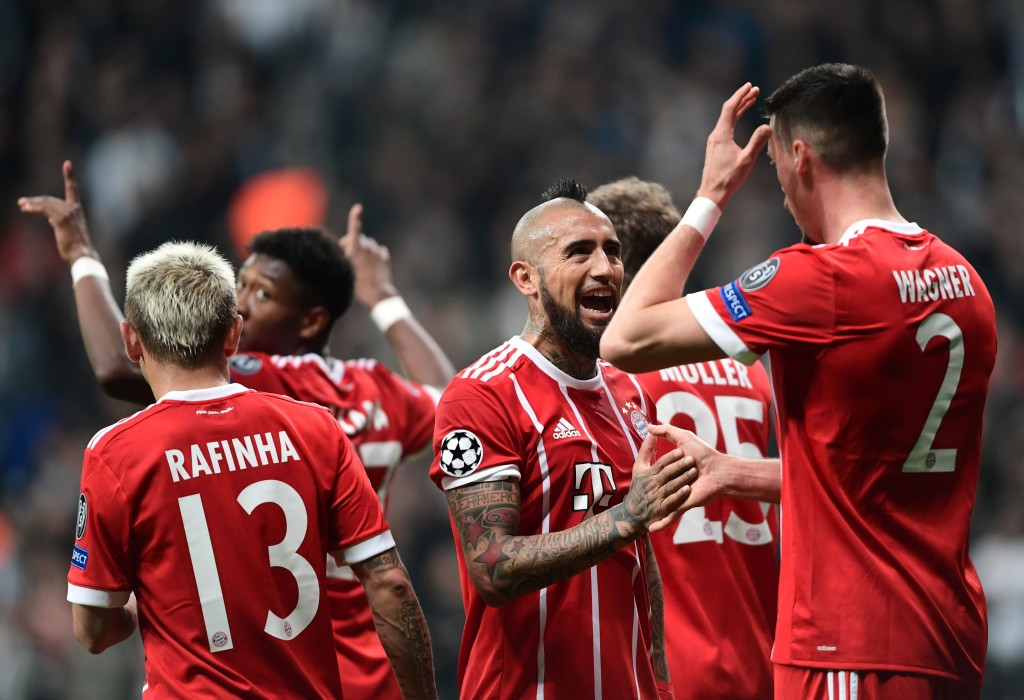 Bayern Munich have a chance to lay down a marker against Sevilla.