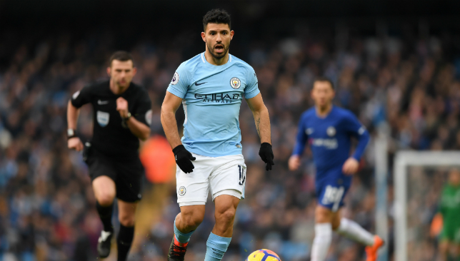 Highly rated: Sergio Aguero