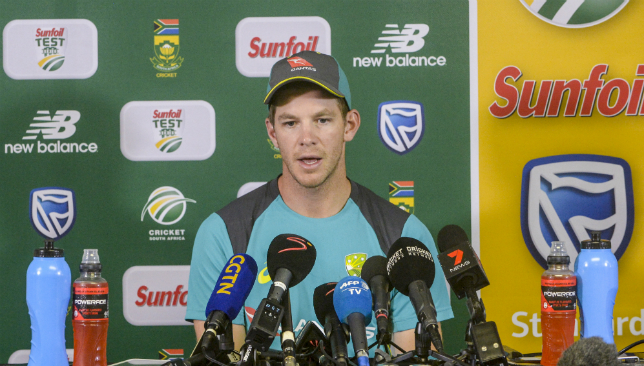 Tim Paine captained Australia after the suspensions to Steve Smith and David Warner.