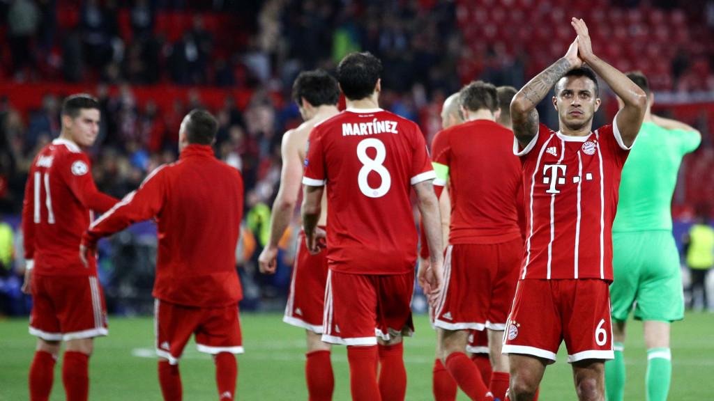Not this time: Bayern ended their recent poor run against Spanish teams.