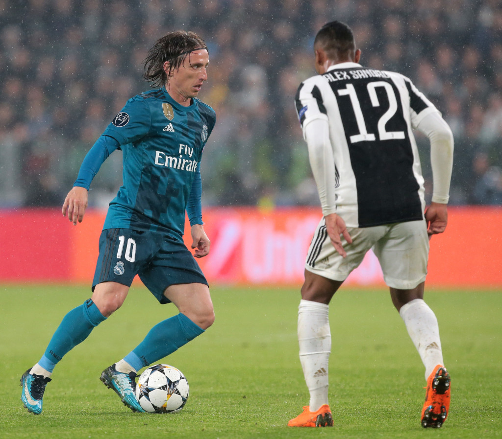 Modric turned in one of his best performances of the season.