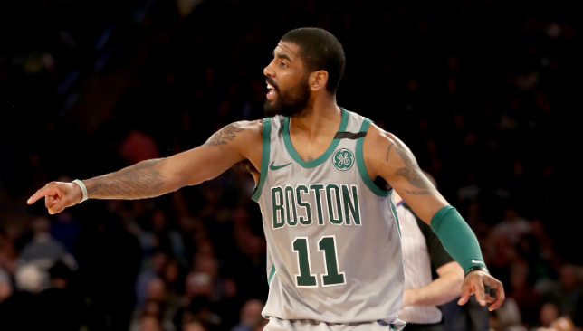 Celtics' Kyrie Irving to miss playoffs with injury