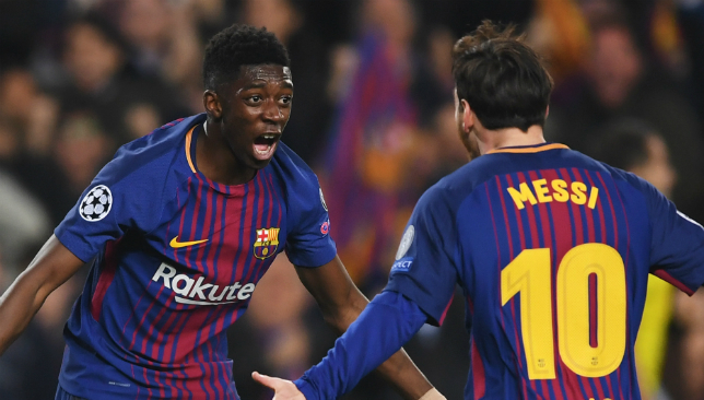 Ousmane Dembele ended 2017/18 in good form.