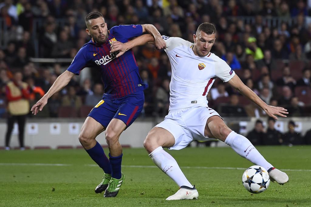 Dzeko has been instrumental in Roma's progress so far.