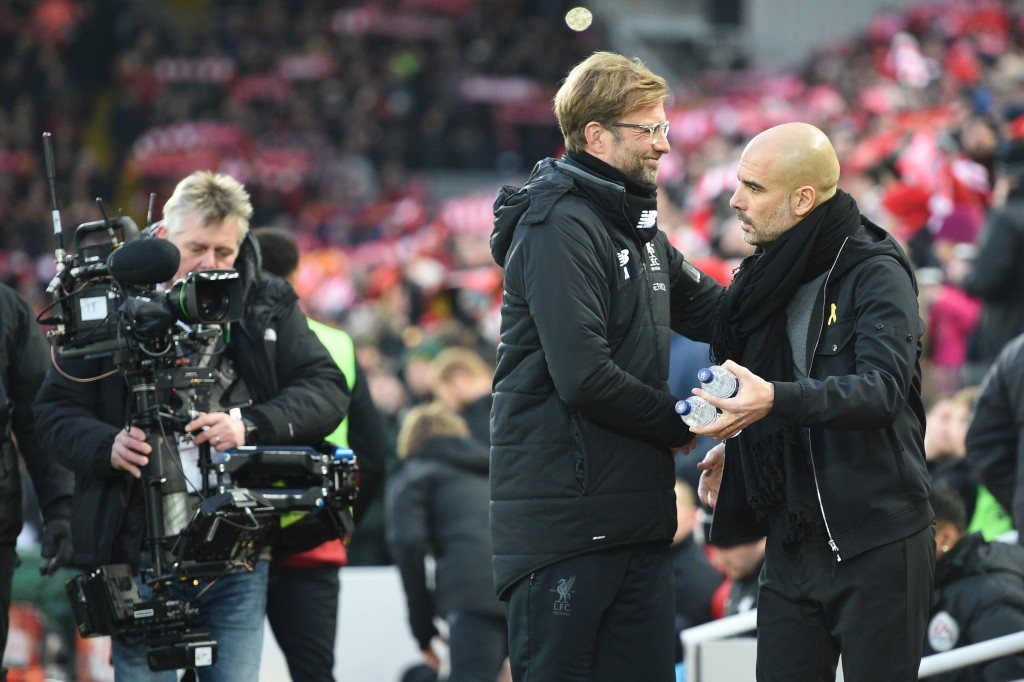 Jurgen Klopp: Pep's kryptonite.