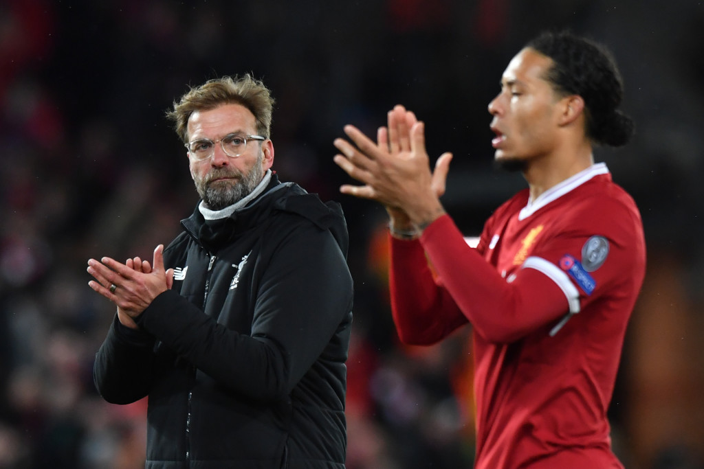 Klopp will trust defensive lieutenant Virgil Van Dijk to see Liverpool through.