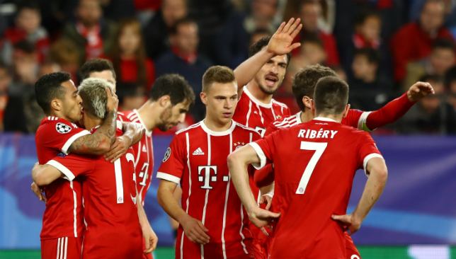 Real Madrid and Bayern Munich advance to Champions League semi-finals