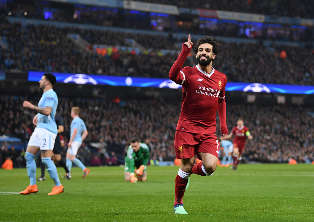 Salah was good for Roma- but not this good