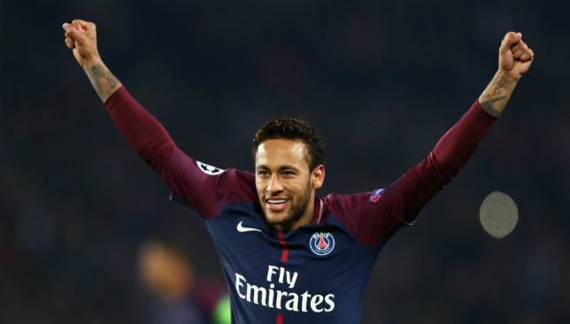 Neymar has had plenty of reason to celebrate this season.
