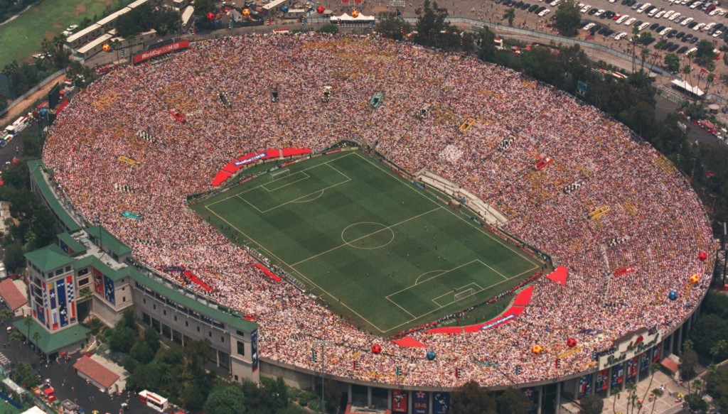 The US staged the football World Cup in 1994.