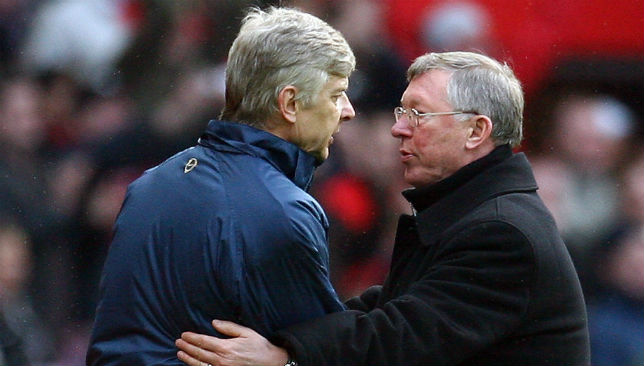 Wenger at Ferguson's old club?